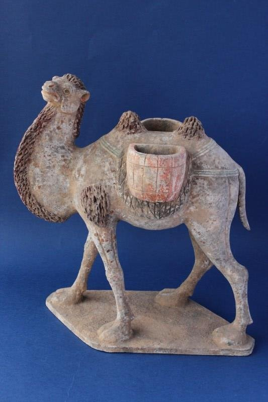 Chinese Pottery Camel,