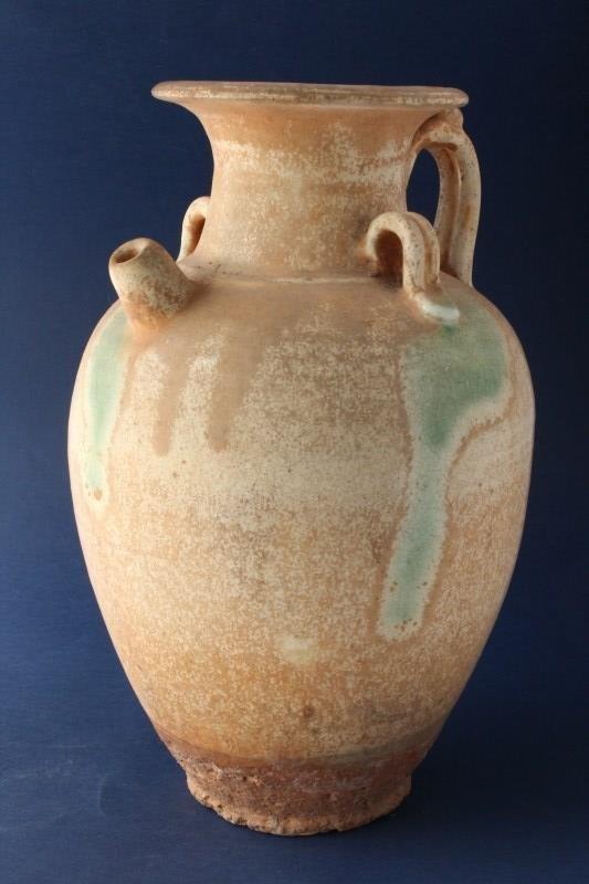 Chinese Pottery Ewer,