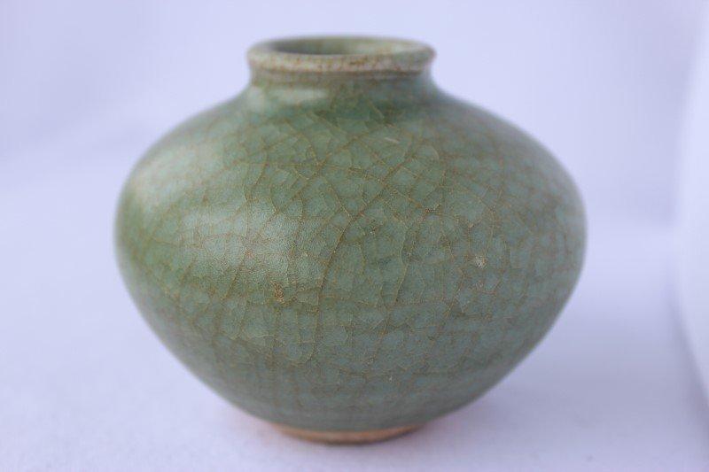 Chinese Ming Dynasty, Celadon Jarlet,