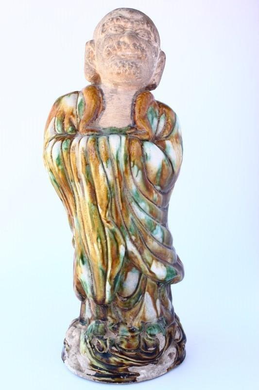Chinese Sancai Glaze Figure,