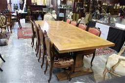 Large French Provincial Refectory Table