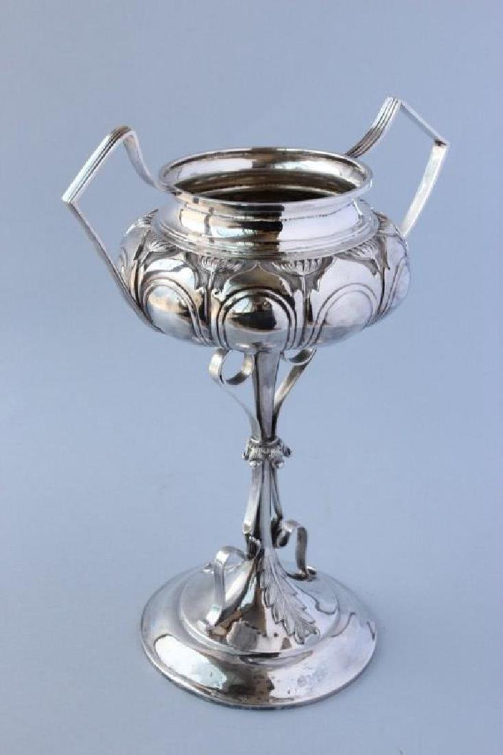 Indian Colonial Silver Twin Handled Trophy,
