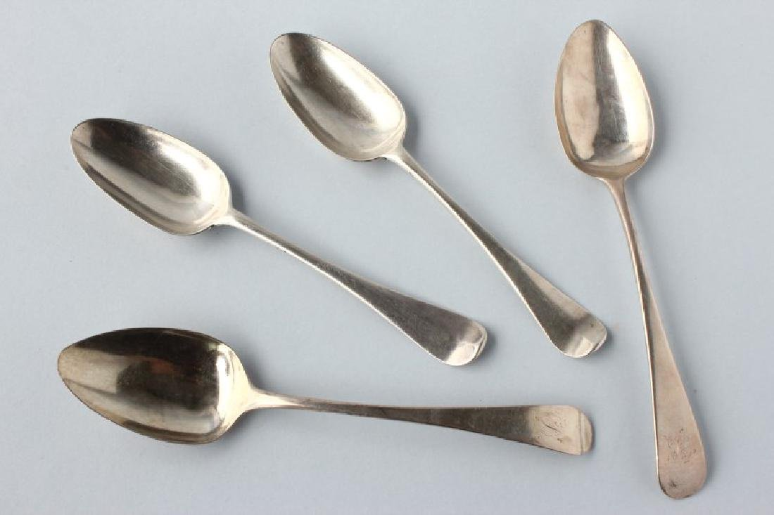 George II and III Two Pairs of Sterling Silver