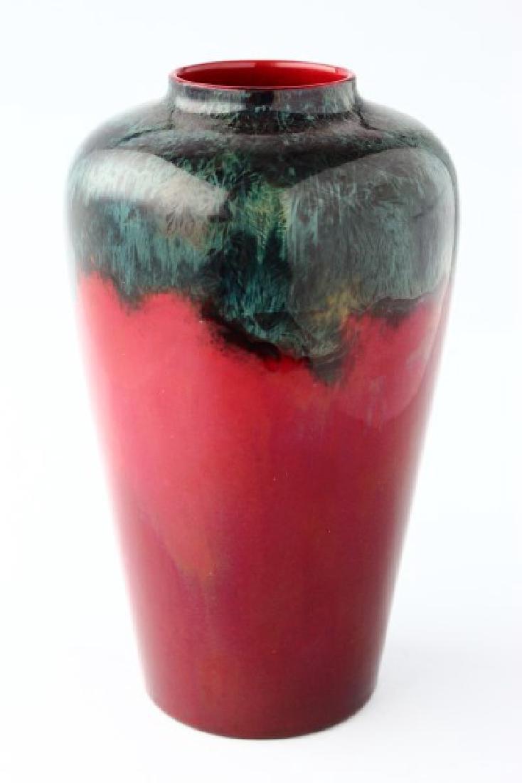 Bernard Moore Flambe Vase,