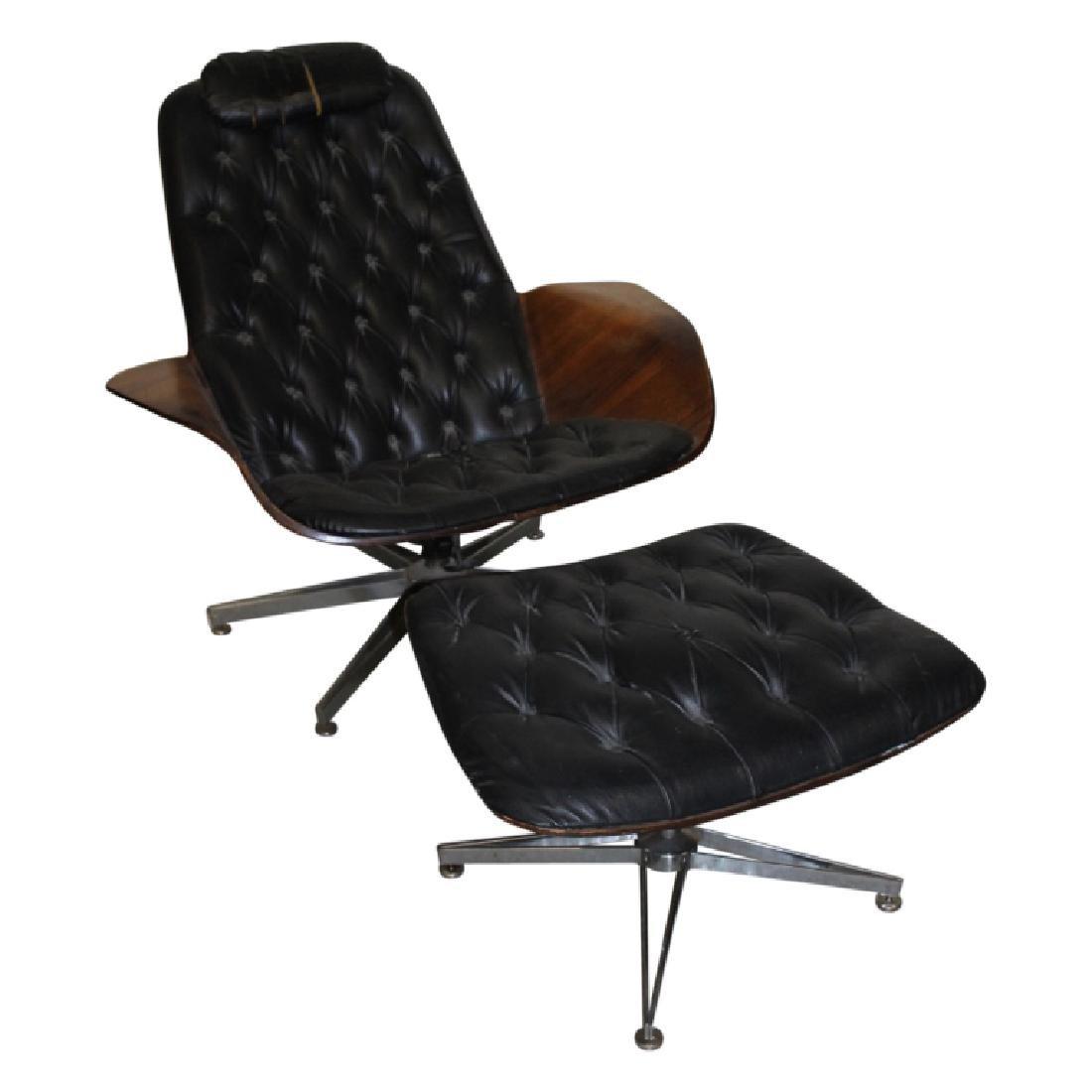 Herman Miller Chair + Ottoman