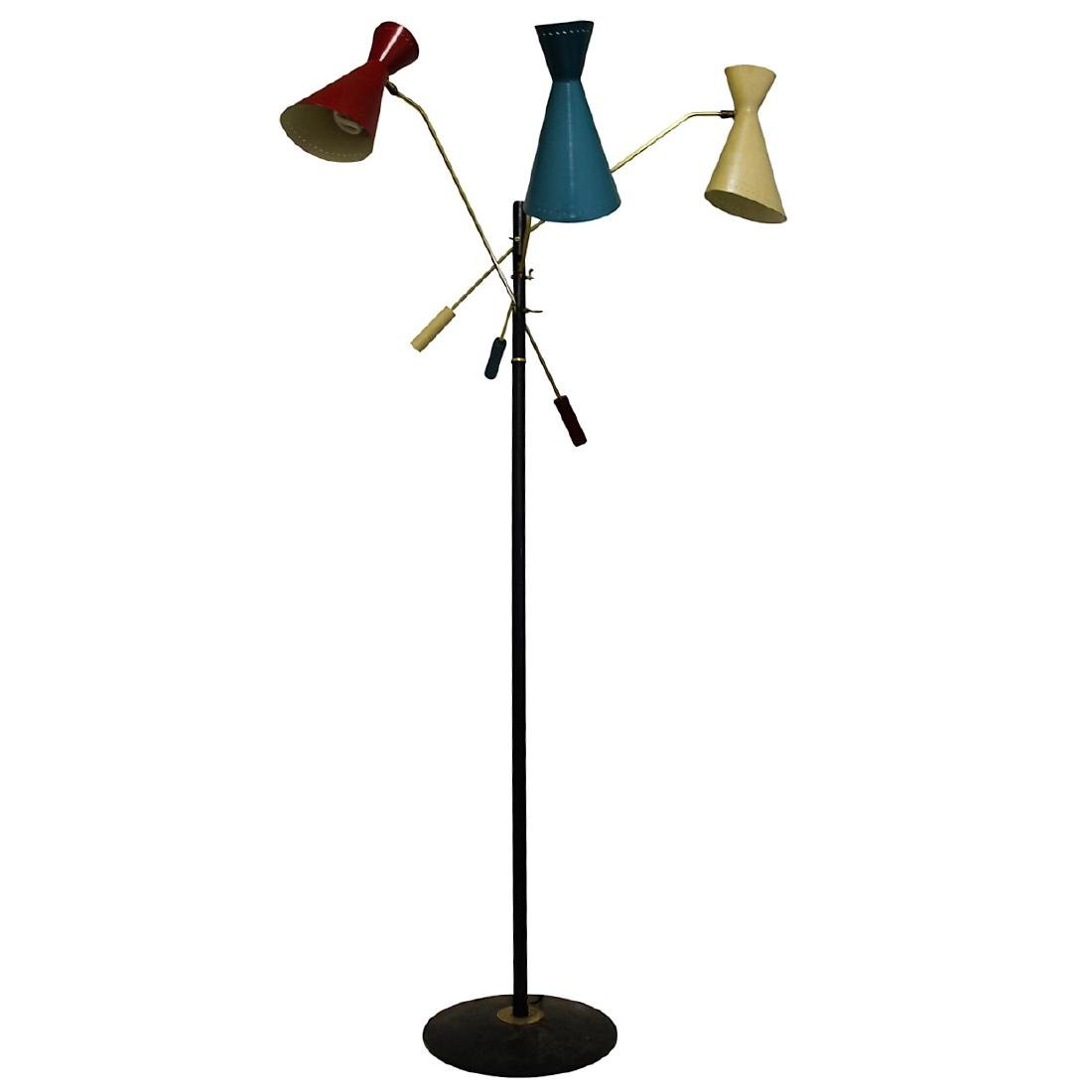 Arteluce Multi-colored Floor Lamp