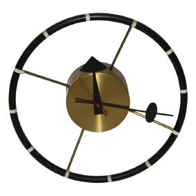 MCM George Nelson Steering Wheel  Wall Clock
