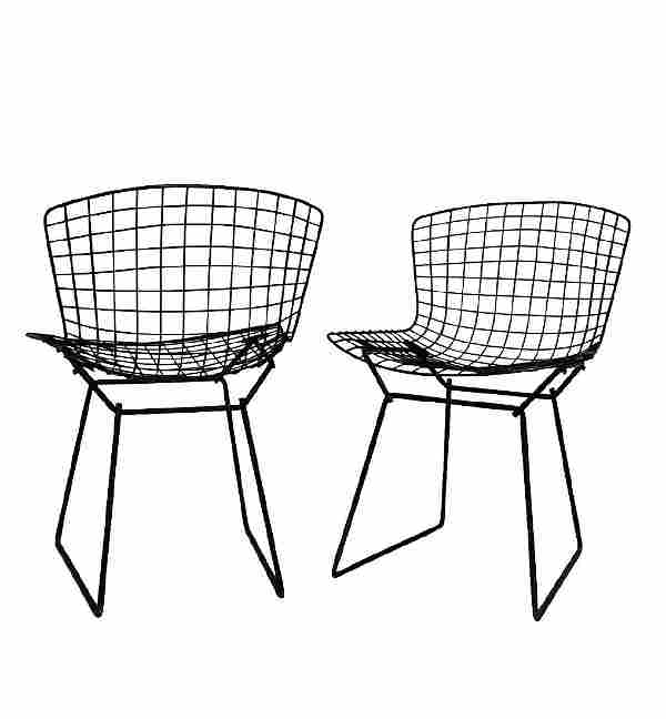 Harry Bertoia for Knoll Wire Side Chairs - 3PCS