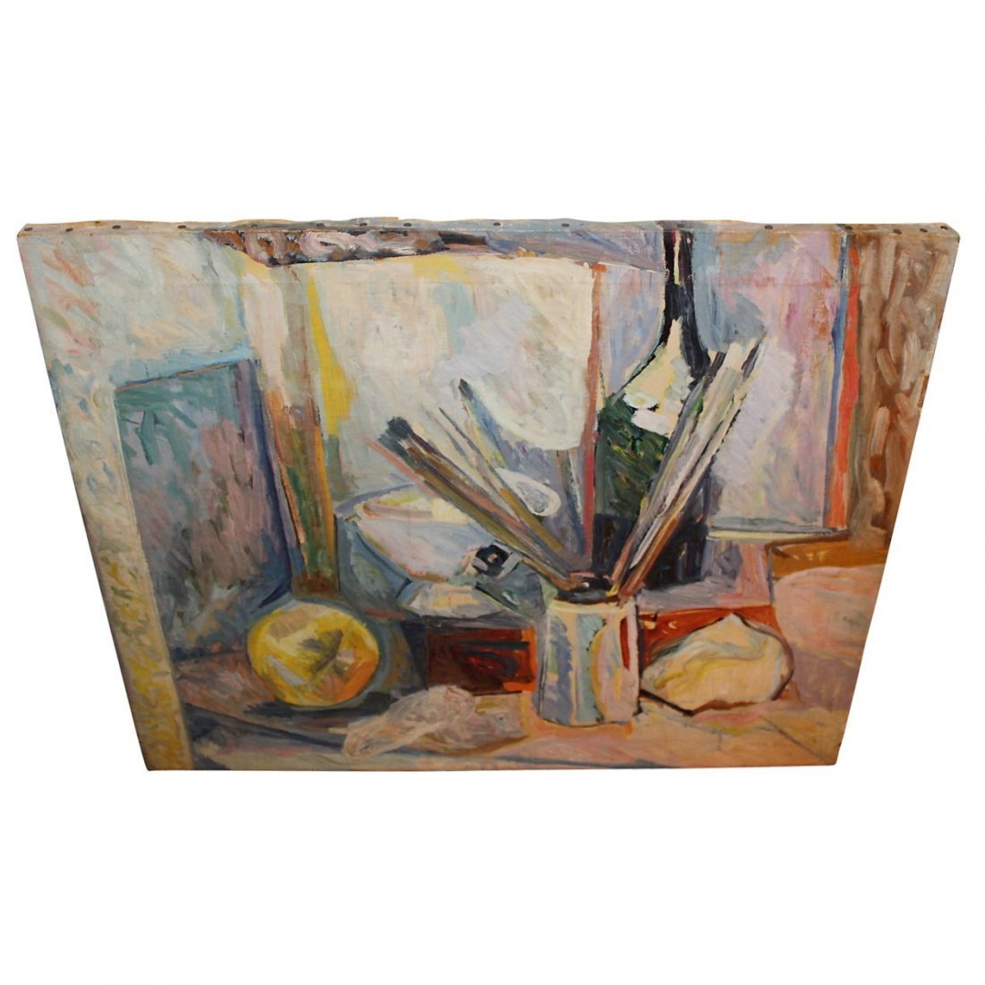 Lutka Pink Oil on Canvas 1906-1998