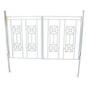 White Iron Gates - 6 PCS