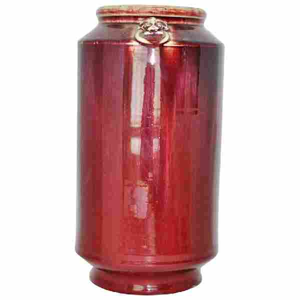 Early Chinese Oxblood Vase