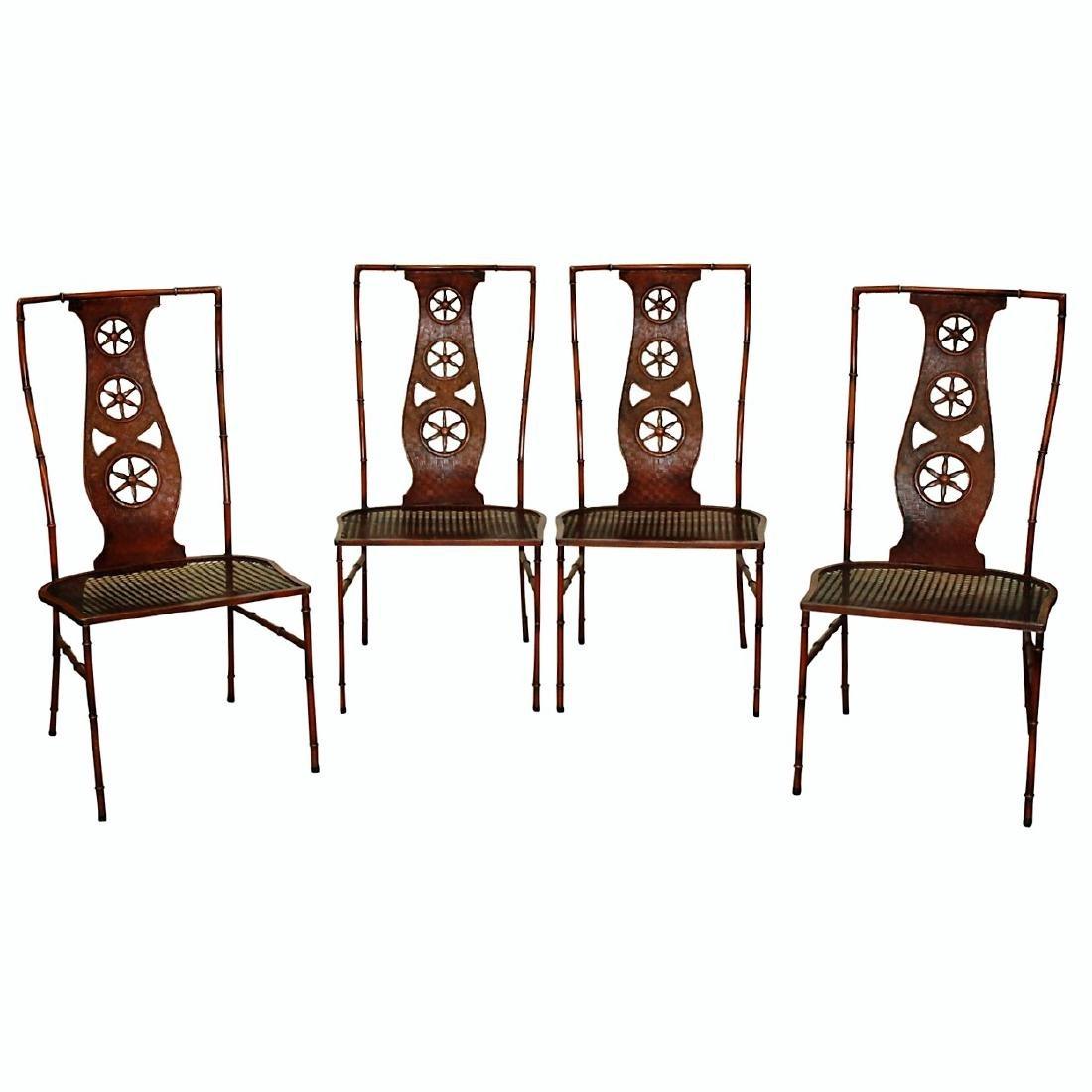 Rare Salterini Chairs - 4 PCS