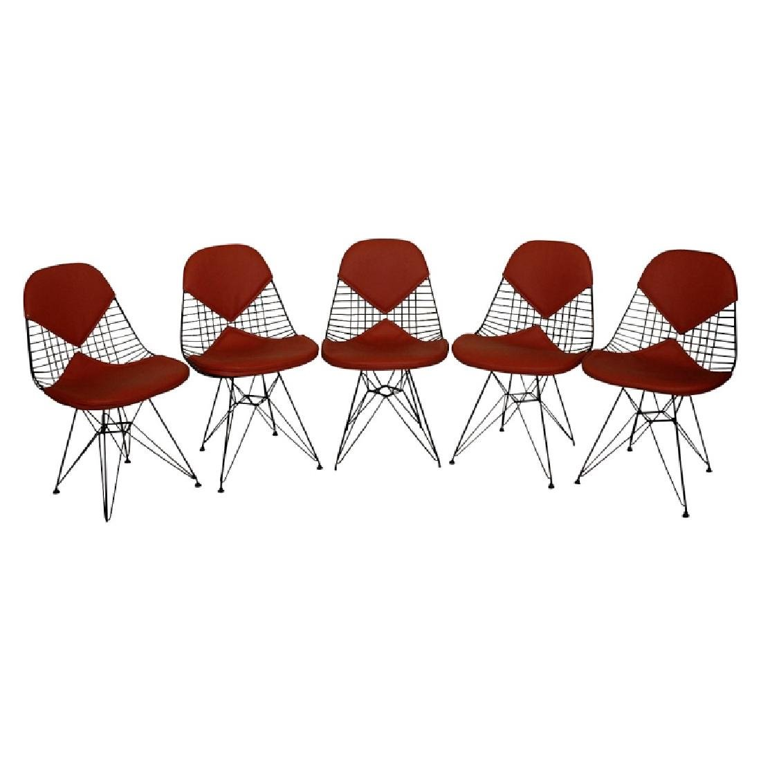 Eames for Herman Miller Wire Chairs w/ Bikini Pads