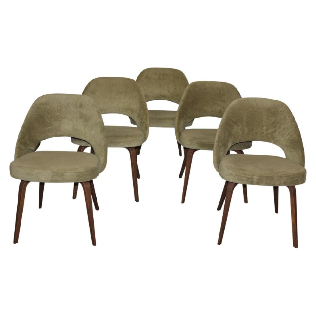 Knoll by Eero Saarinen Executive Side Chairs