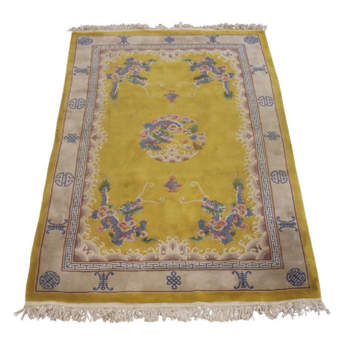 Handmade Asian Carpet 302-4