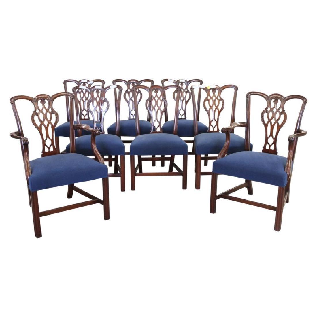 Schmieg & Kotztan Dining Chairs - 8 PCS