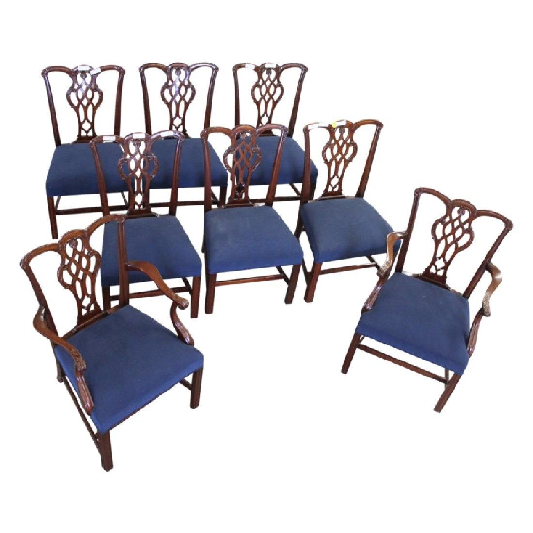 Schmieg & Kotztan Dining Chairs - 8 PCS - 3
