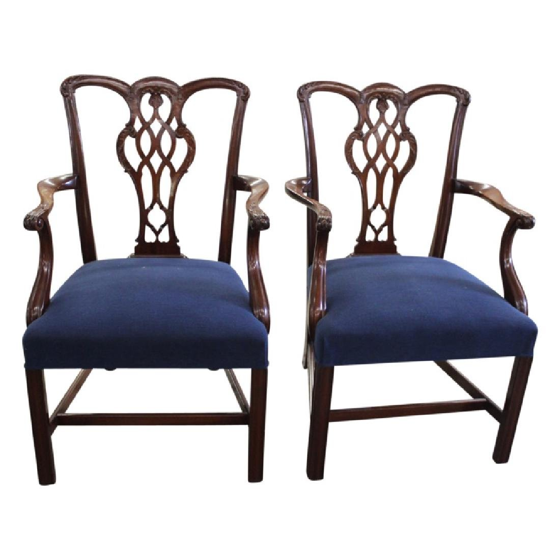 Schmieg & Kotztan Dining Chairs - 8 PCS - 4