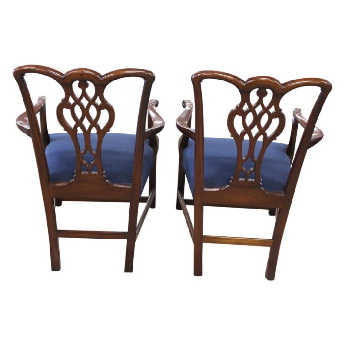 Schmieg & Kotztan Dining Chairs - 8 PCS - 5