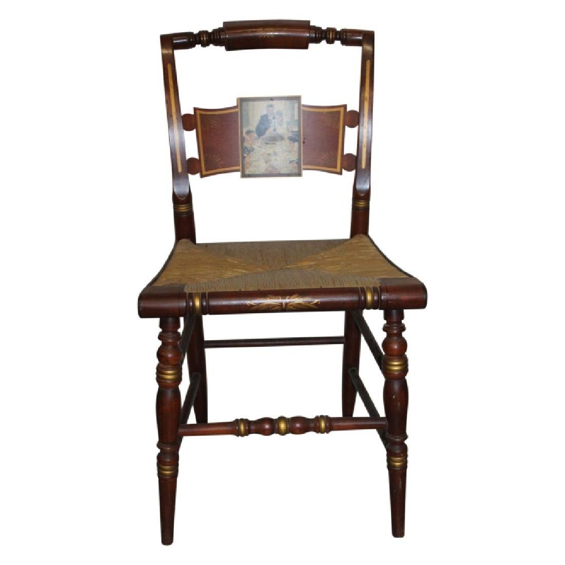 Norman Rockwell Edition Hitchcock Side Chairs - 4 - 2