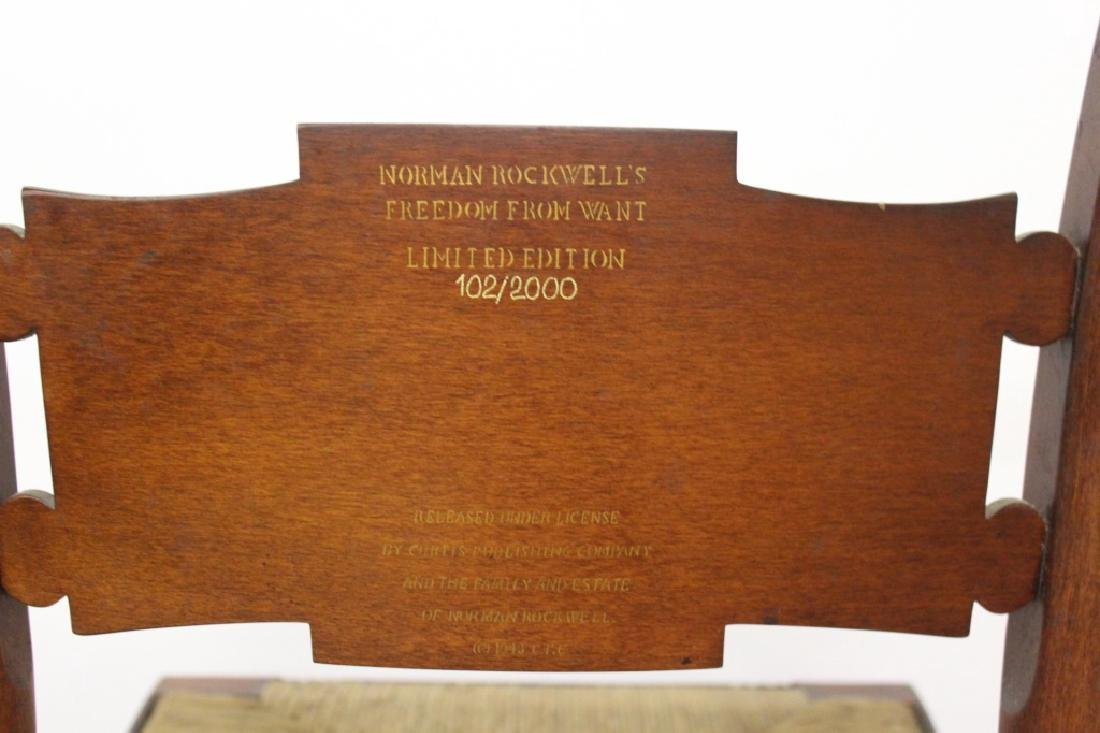 Norman Rockwell Edition Hitchcock Side Chairs - 4 - 5