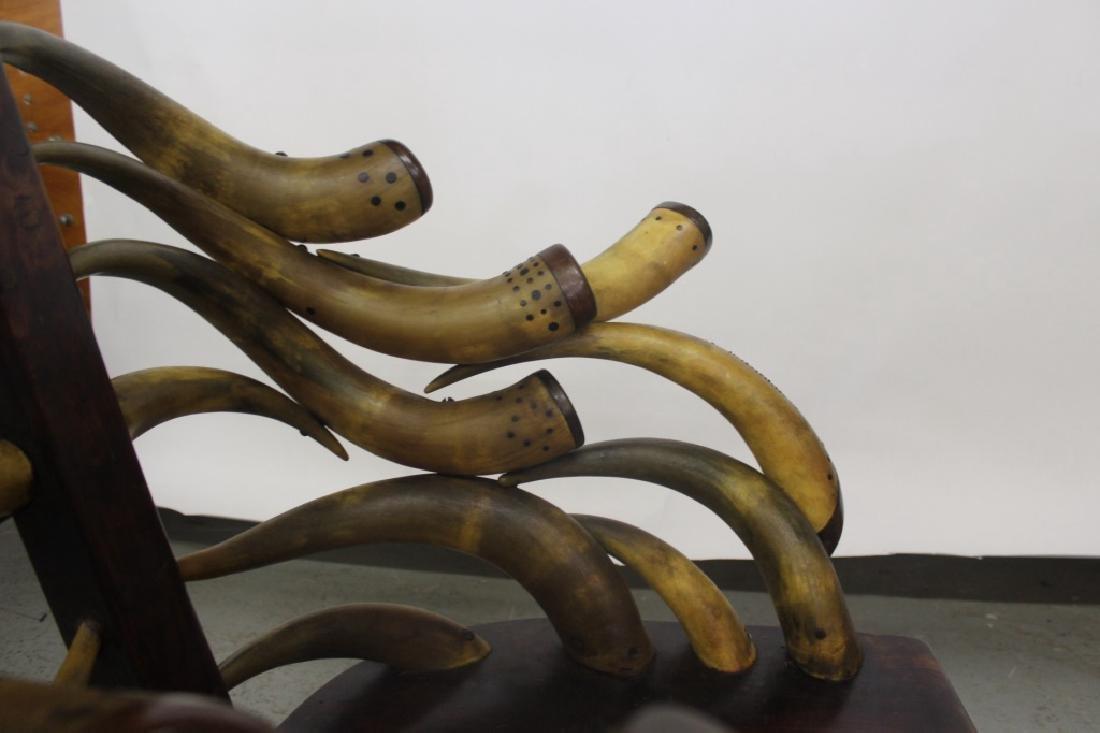 Horn Rocking Chair - 6