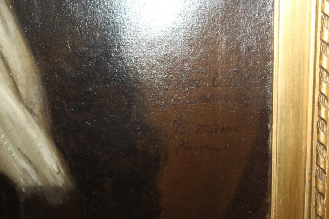 Oil on Canvas Portrait - 4