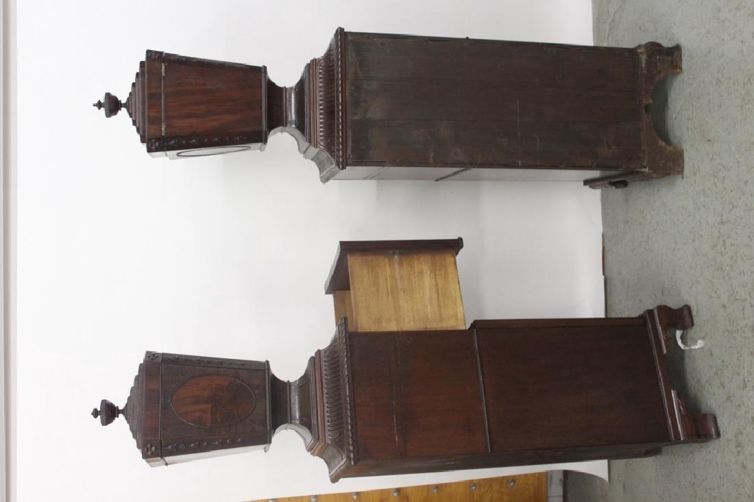 Pair Antique Adams Style Knife Boxes w/ Pedestals - 7