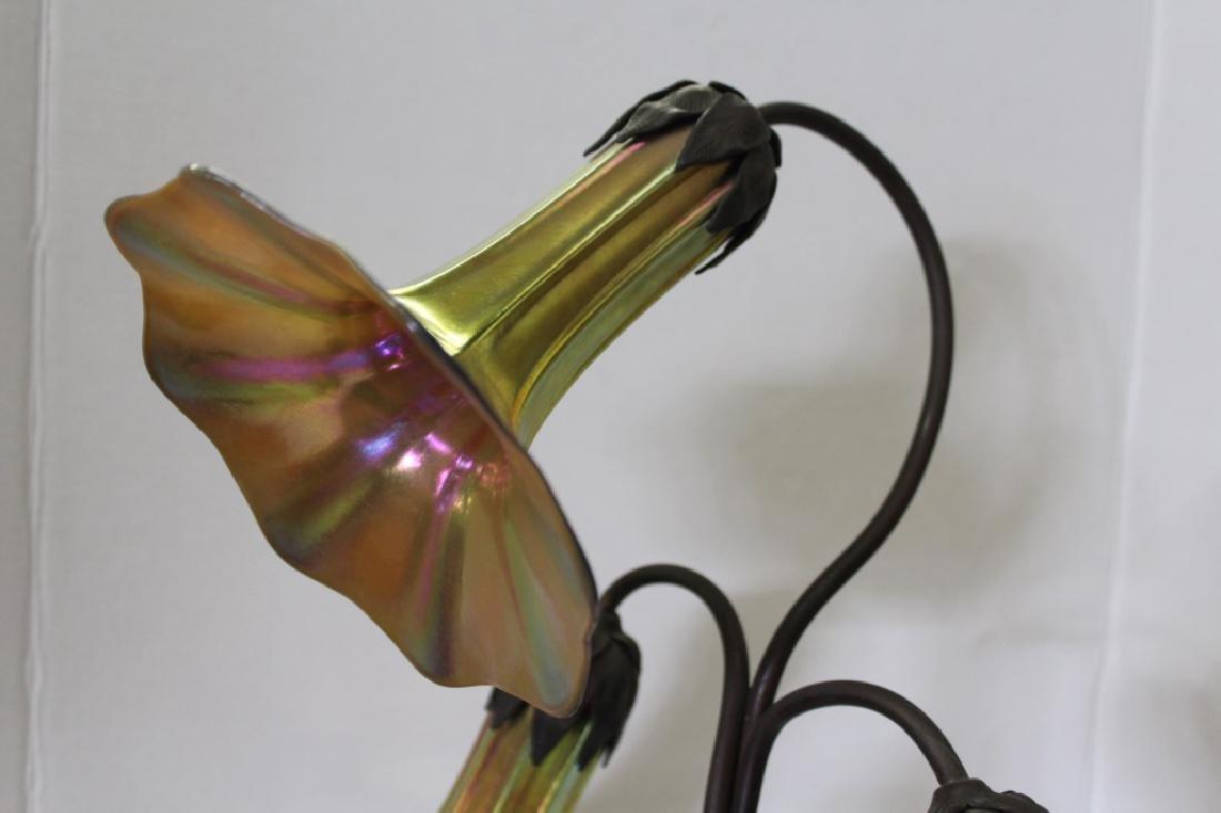 John Cook Studio Lily Lamp #424 - 3