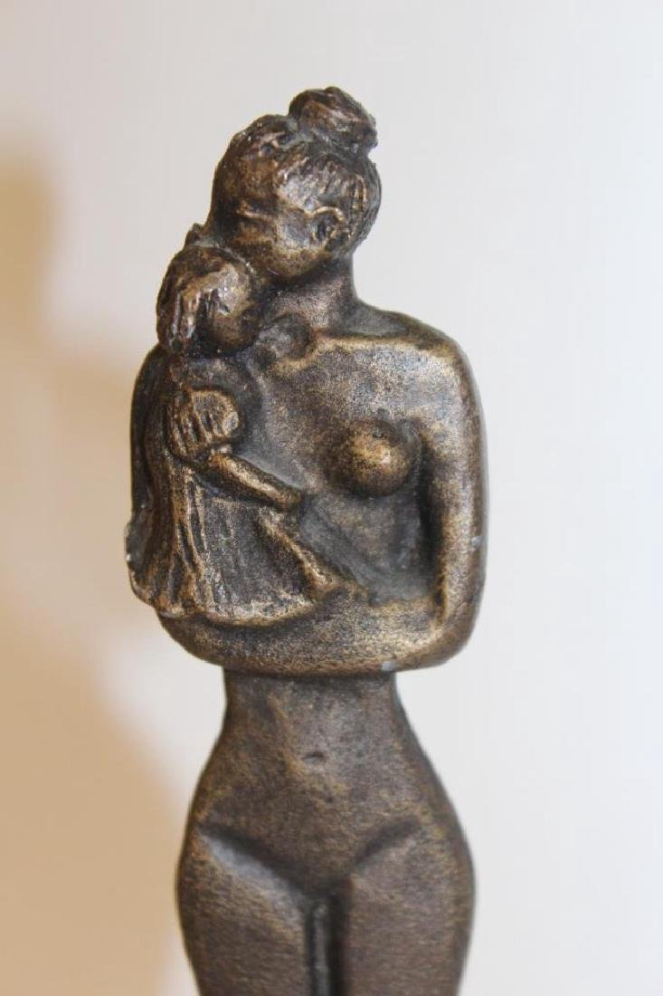 Bronze Figure on Lucite Base - 3