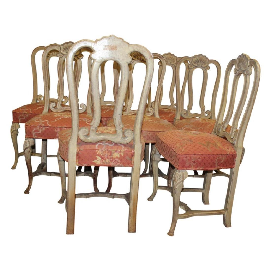 French Upholstered Dining Chairs - 8PCS - 2