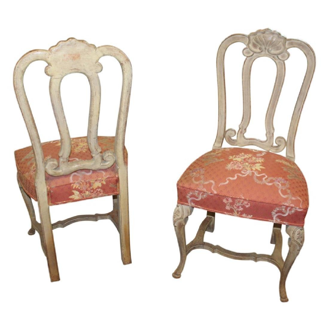 French Upholstered Dining Chairs - 8PCS - 5