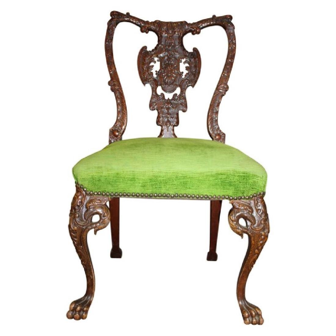 Early Chippendale Side Chair