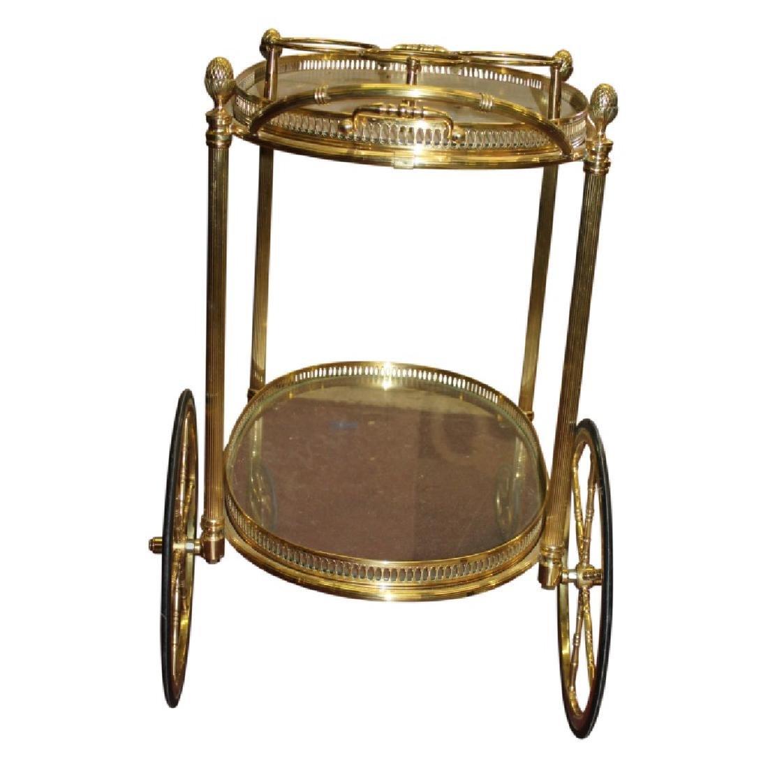 French Bar/Tea Cart - 3