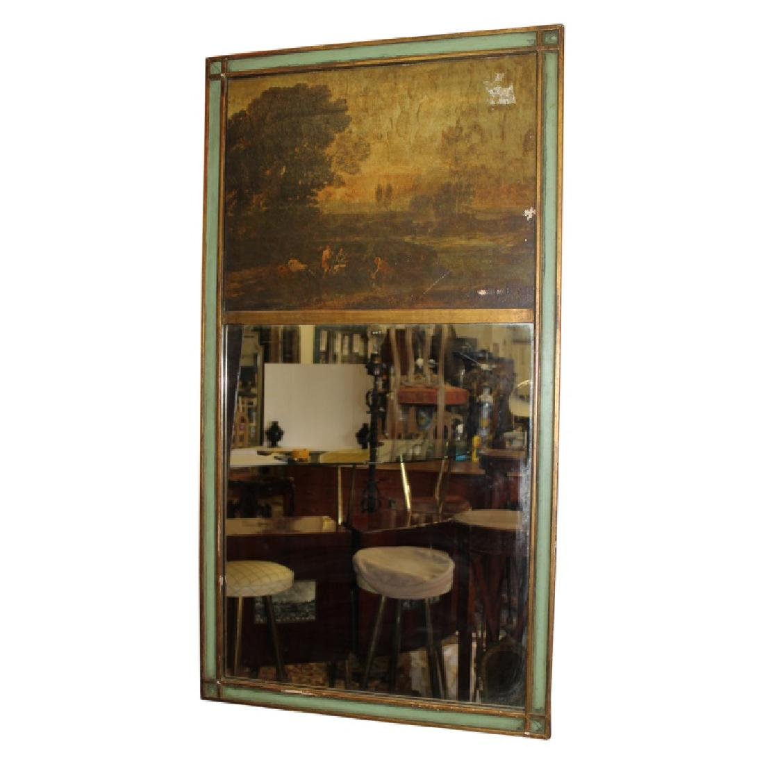 Antique Trumeau - Countryside Painting