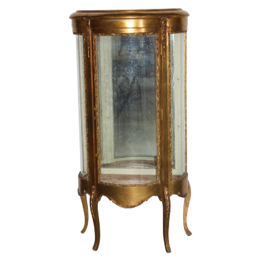 French Gold Gilt Curio