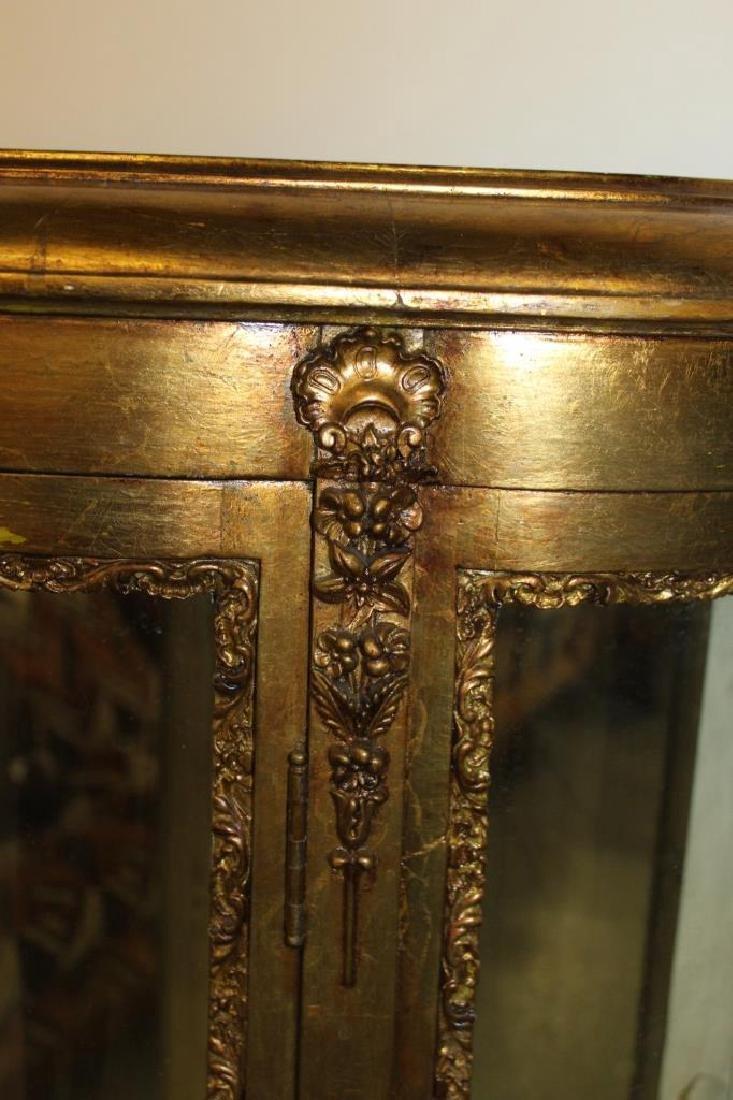 French Gold Gilt Curio - 2