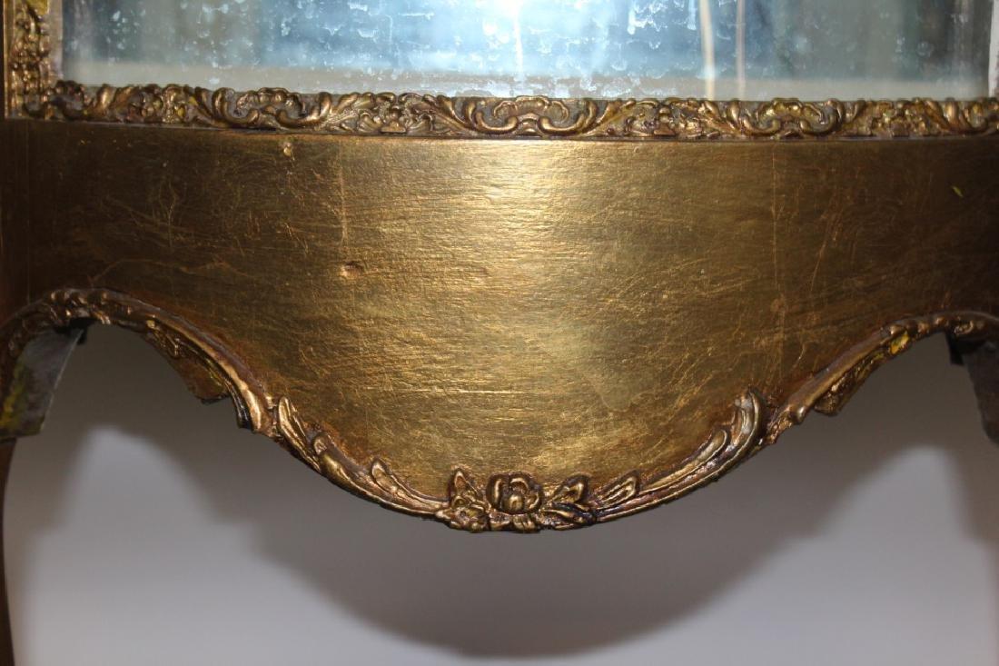 French Gold Gilt Curio - 3