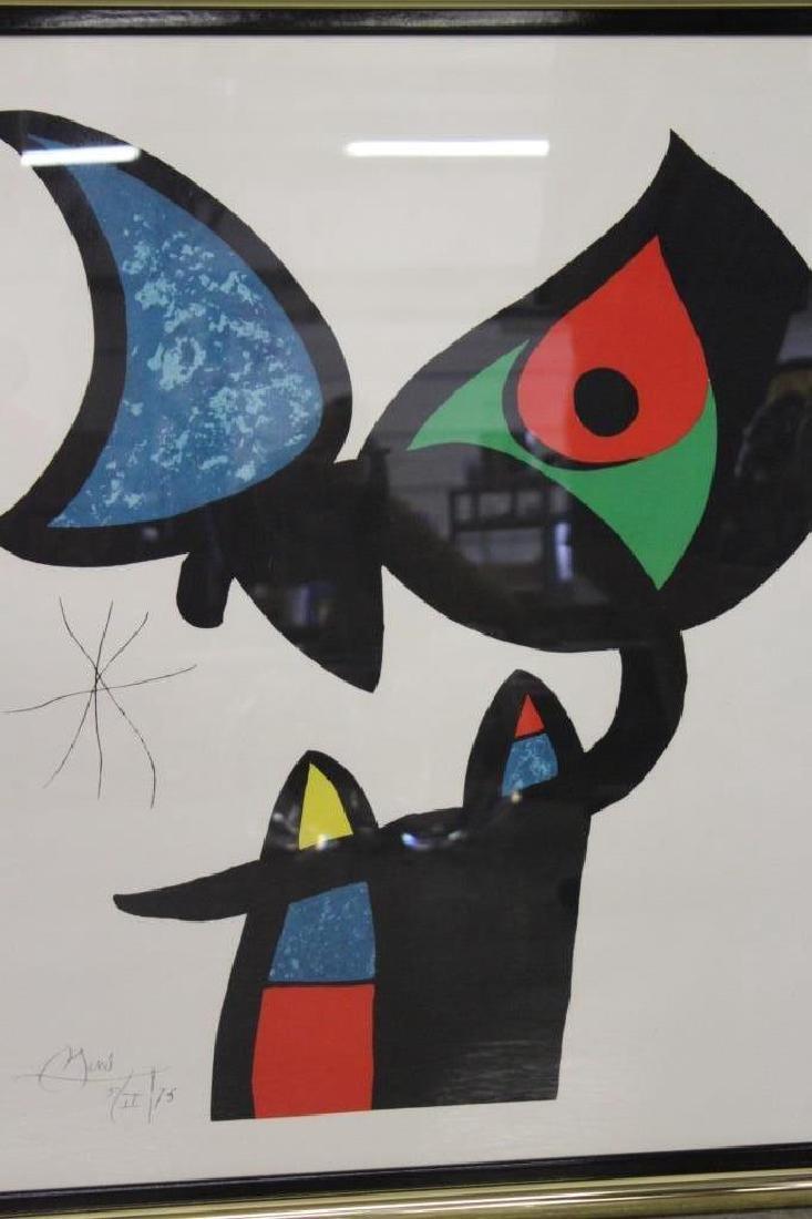 Espriu by Joan Miro Lithograph - 3