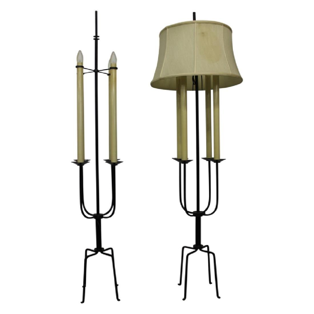 Pair of Tommi Parzinger Floor Lamps - 2