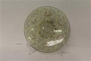 Venetian Glass Plate G Penzo