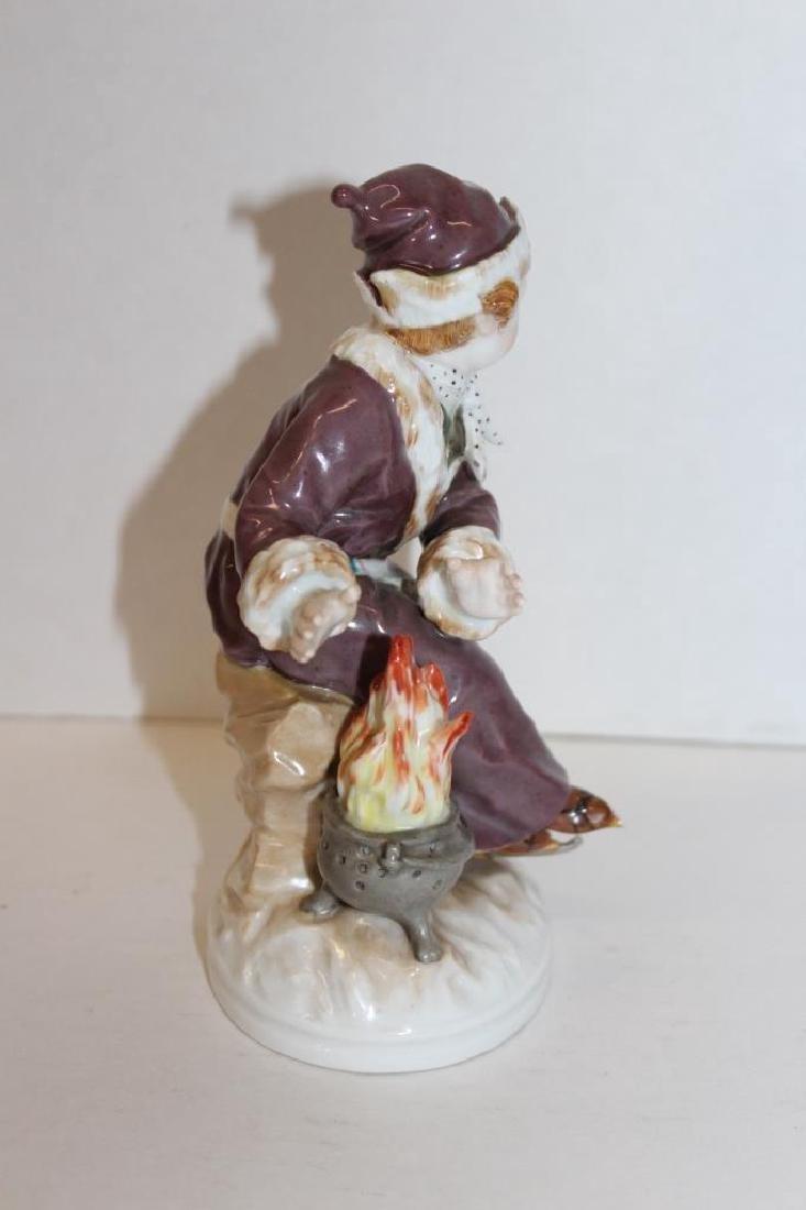Rare KPM Fire Figure - 5