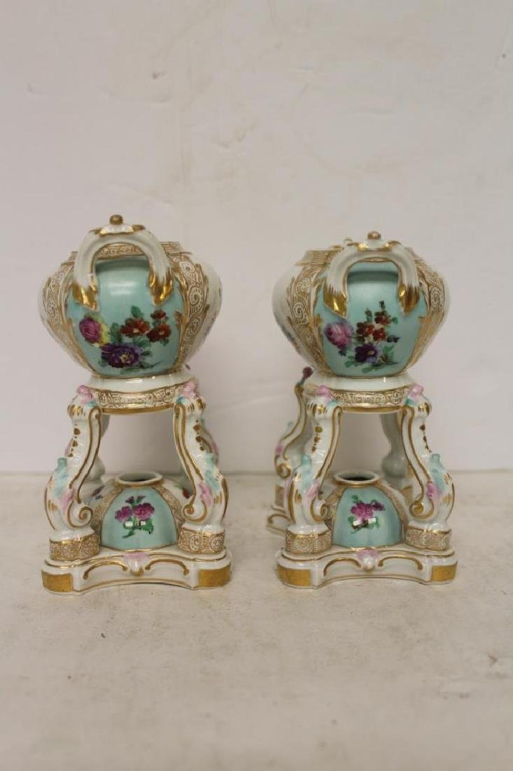 Pair of Meissen Censors - 3