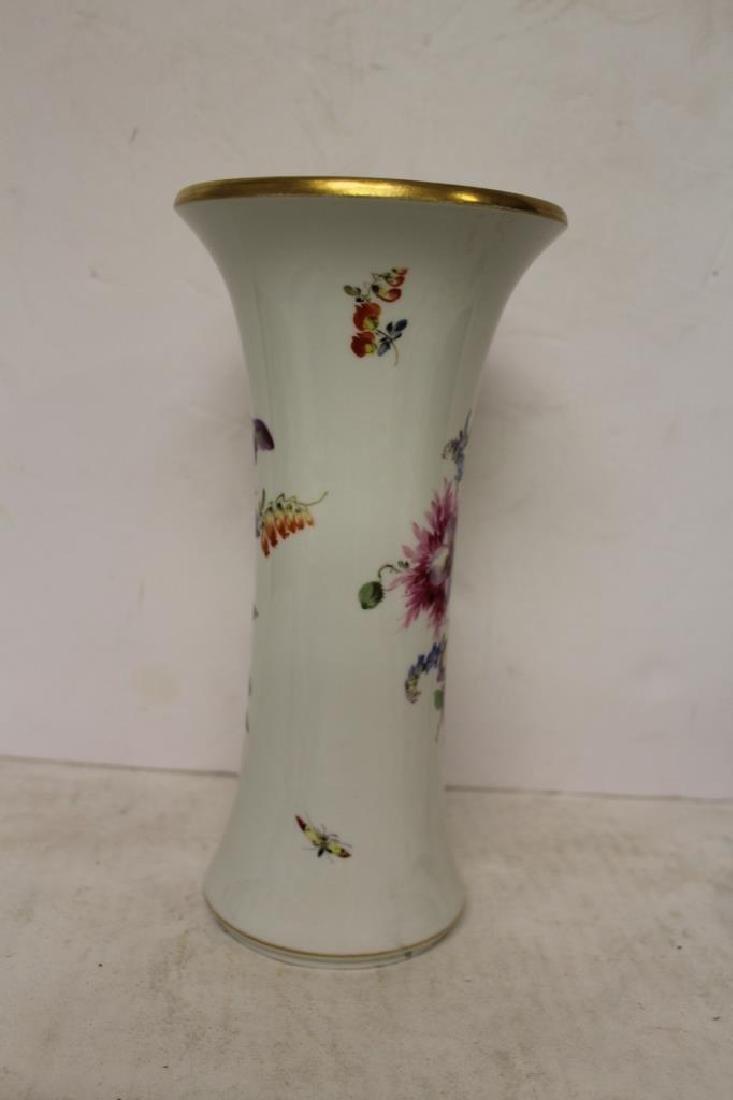 Meissen Trumpet Vase - 5