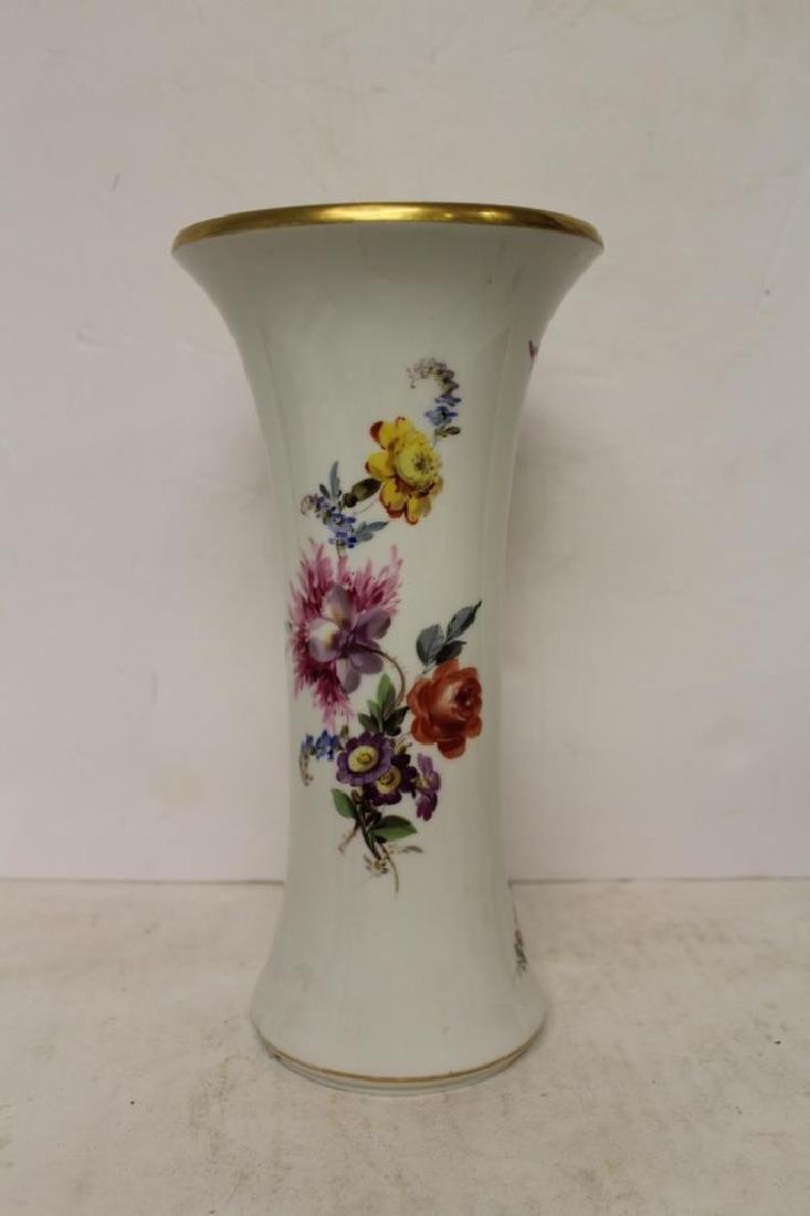 Meissen Trumpet Vase - 6