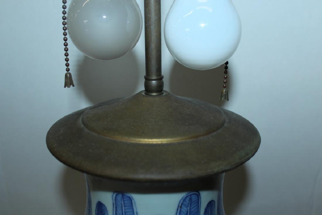 Asian Vase Lamp - 2