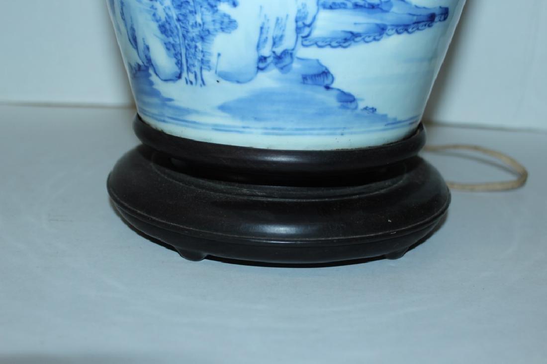 Asian Vase Lamp - 4