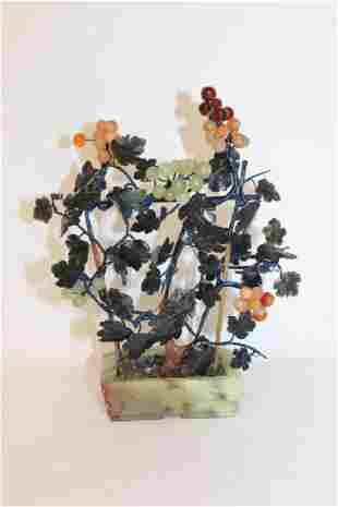 Jade & Mixed Stone Grapevine