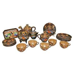 Asian Tea Set 21 PCS