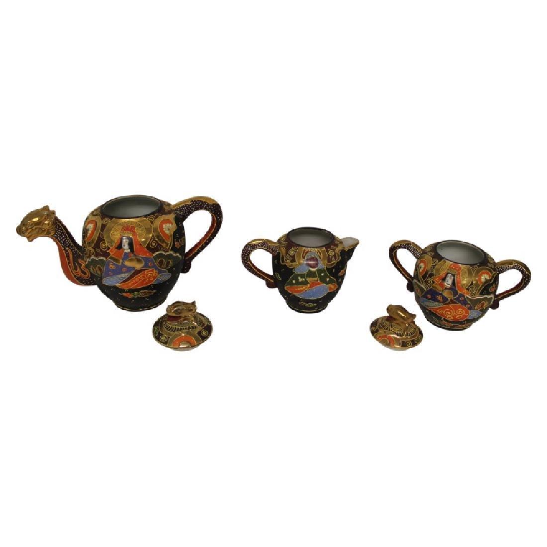 Asian Tea Set - 21 PCS - 3